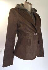 YUANYUAN Brown Jacket Hoodie S