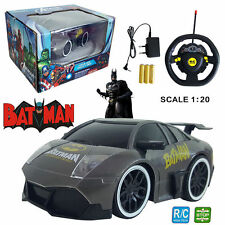 1:20 MARVEL ULTIMATE BATMAN ELECTRIC RC RADIO REMOTE CONTROL CAR KIDS CHILD TOY