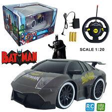 1:20 MARVEL ULTIMATE BATMAN ELECTRIC RC RADIO REMOTE CONTROL CAR KIDS CHILD TOY