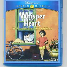 Disney Studio Ghibli Whisper of the Heart 2006 G animated movie Blu-ray, No DVD
