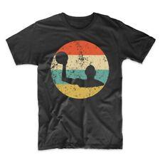 Men's Water Polo Shirt - Vintage Retro Water Polo Player Icon T-Shirt