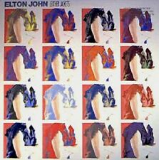 ELTON JOHN sealed Leather Jackets rejoined by Gus Dudgeon and Bernie Taupin LP