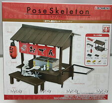 Pose skeleton  Oden stalls set  - Re-ment   , #3ok