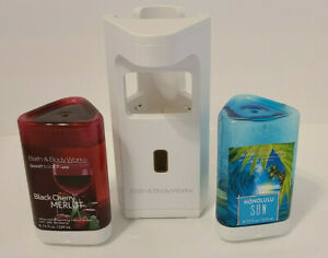 Bath & Body Works Automatic Smart Soap Dispenser White Plus Refills TESTED WORKS