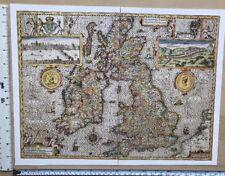 John Speed Map Of Ireland.John Speed Ireland Antique Original Antique Europe Maps Atlases