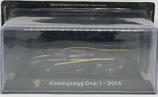 SUPERCARS Panini Collections The World Greatest Cars #37 Koenigsegg One:1 2014
