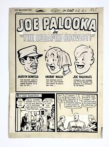 JOE PALOOKA #60 1951 HAM FISHER  18 PAGES  LITTLE MAX  HECTOR THE DIRECTOR