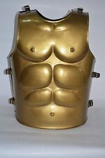 COLLECTIBLE Muscle Armour GREEK MUSCLE ARMOR WITH GREEK HELMET GOLDEN COLOR pkl.