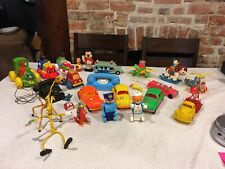 Lot Of Vintage Amloid Jumpin Jimmy Tomy Irwin Easter Unlimited Smurf Mickey Toys