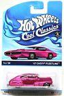 Hot Wheels Cool Classics #14 Spectrafrost Pink 47 Chevy Fleetline #S-3