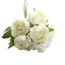 Peony Bouquet Floral Wedding Bouquet Party Home Decor Artificial Fake Flowers