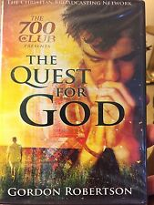 The 700 Club Presents The Quest for God -Gordon Robertson (DVD) Brand New Sealed