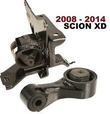 9L1200 2pc Motor Mounts FOR Scion XD 2008 - 2014 1.8L Engine MANUAL Trans Mounts