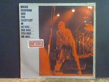 ROGER CHAPMAN & THE SHORTLIST  He Was She Was ... Live   DBL LP