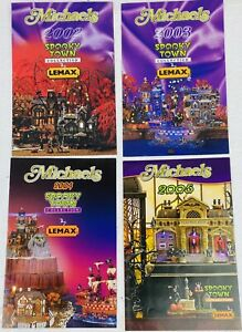 Michaels LEMAX Spooky Town Collection Brochure Catalogue 2002 2003 2004 2005