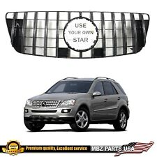 ML350 ML550 ML63 W164 GRILLE GT GTR GRILL AMG NEW STYLE REPLACEMENT 2009-2011