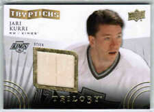 14/15 UD TRILOGY JARI KURRI T-KINGS2 TRYPTICHS STICK /150 LOS ANGELES KINGS