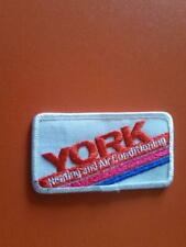 New ListingYork heating and air conditioning employee uniform patch