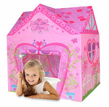 Charles Bentley My Little House Play Tent Girls Pink Playhouse Children Tent Den