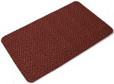 Brick Red Multi Directional Doormat Front Back Step Polypropylene Mat 80 x 50cm