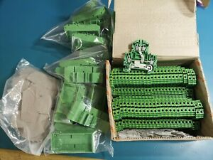Weidmuller WDK 4N PE Terminals And Other Parts Joblot