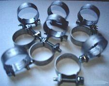 "FUEL LINE HOSE CLAMPS (BAG OF 10) 0.54""-0.63"" (14-16mm)"