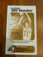 2002 NBA All Star Game Full Ticket Stub PAUL ARIZIN GIFT VOUCHER