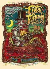 FIERY FURNACES 6 COLOR SILKSCREEN GIG POSTER MMM