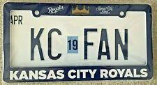 Kansas City Royals License Plate Holder Frame - Brand New Sealed