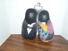 NIGHTMARE BEFORE CHRISTMAS HOUSE SLIPPERS JACK & SALLY XL 11-12 New With Tags