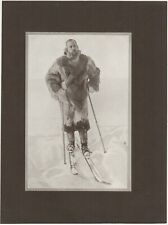 Roald Amundsen Polar Explorer 6 Page Article on reaching South Pole in 1911