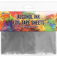 """Tim Holtz Alcohol Ink - FOIL TAPE SHEETS - 4.25 x 5.5"""" - Pack of 6 sheets"""