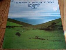 "The Mormon Tabernacle Choir - Songs Of The British Isles - 12"" vinyl LP album"