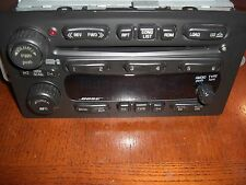 03-06 GM CHEVY GMC Trailblazer Envoy OEM BOSE 6 CD Player Changer Radio 10359565