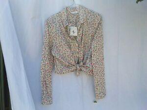Vintage Sportscraft Long sleeved shirt Made in Australia Size 14-16