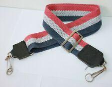 Vintage Red , White & Blue Adjustable Camera Neck Strap
