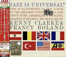 The Kenny Clarke & Francy Boland Big Band ‎– Jazz Is Universal ( CD - Album )