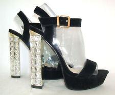 Clubwear Patternless Faux Suede Slim Heels for Women