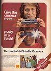 1978 Kodak Camera Michael Landon Retro Print Ad Advertisement Vintage VTG 70s