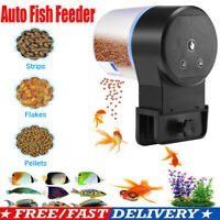 Adjustable Automatic Aquarium Timer Auto Fish Tank Pond Food Feeder Feeding New