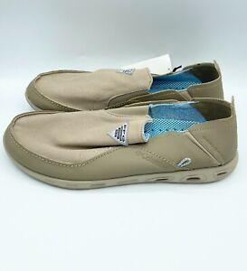 Mens Columbia (BM4677-271) Bahama Vent PFG Taupe Shoes Size 13