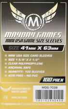 Mayday Games Game Yellow label Card Sleeves 41mm X 63mm) (100) 7039