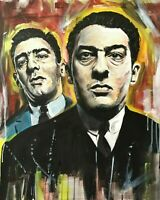 "The Kray Twins Canvas Wall Art ""20x30"""