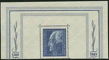 SBZ Mi.Nr. 239 Goethe-Blockmarke postfrisch Mi.Wert 150€ (1601)