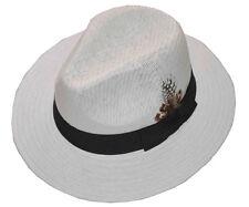 Panama Straw Hat-white-medium