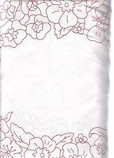Panel Redwork Romance #811 R  bt P&B 100% Cotton Fabric 1 Yard