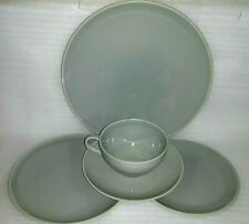 Harmony House SYMPHONY GRAY 5 Piece Place Setting Extremely Hard to Find Excel