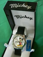 Disney MZB Mickey Mouse Men's Quartz Watch, New w/Original Box and Tag!