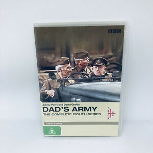 DAD'S ARMY Season 8 DVD Region 4 TV SHOW Very Good Condition FREE SHIPPING