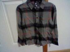 BRAND NEW BOYS SIZE MEDIUM 8 ROUTE 66 FLANNEL SHIRT